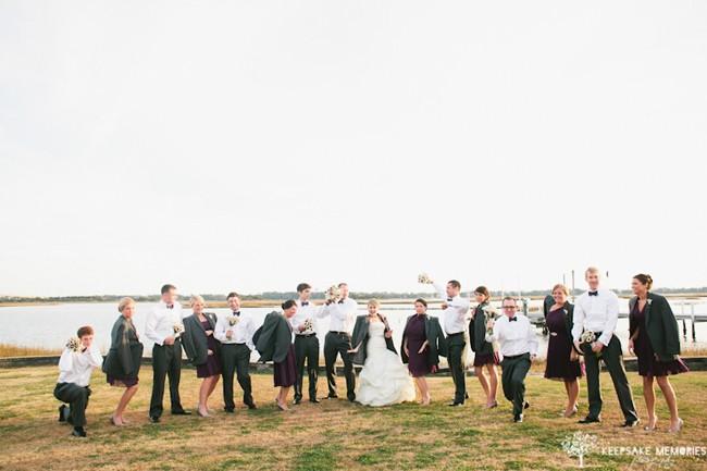 emerald isle wedding photographer