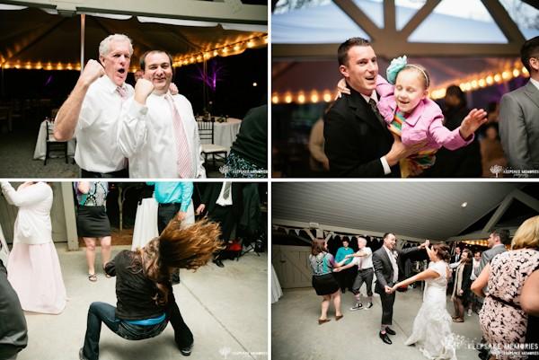dancing reception photos