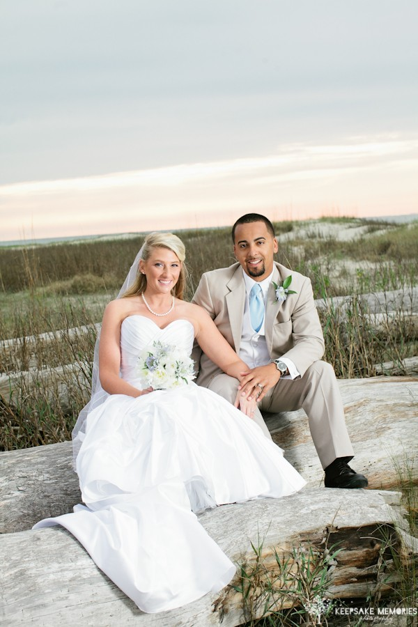 wedding on bald head island nc