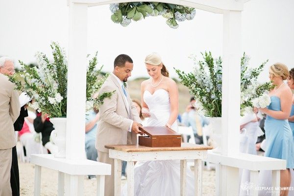 bald head island wedding ceremony