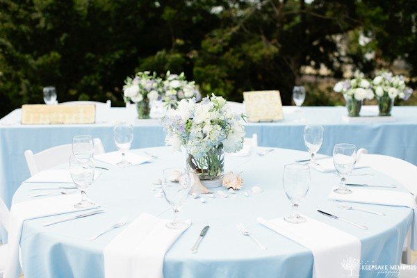 bald head island wedding decor