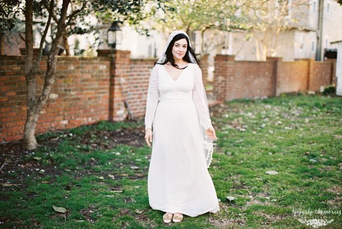 swansboro bridal portrait