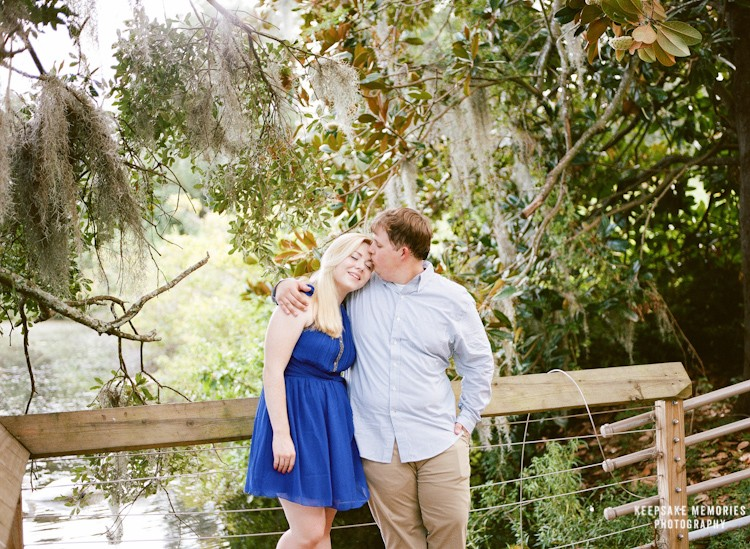 airlie gardens engagement