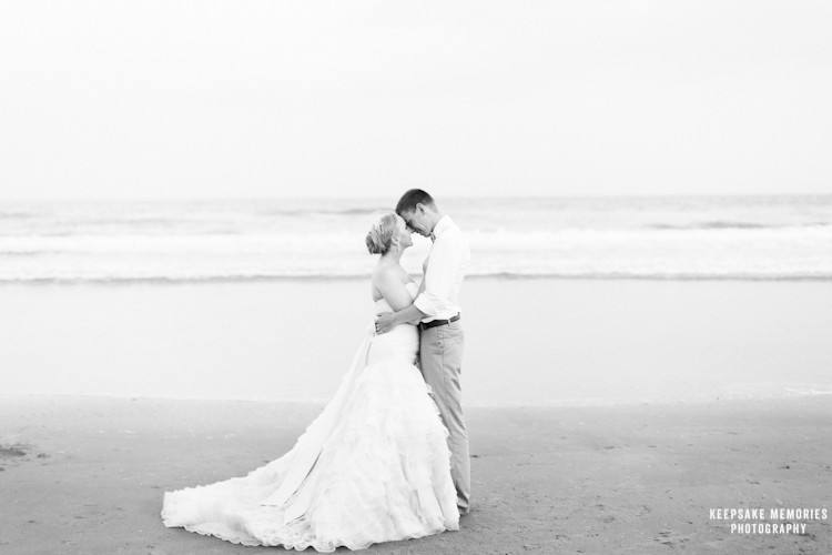 emerald isle wedding