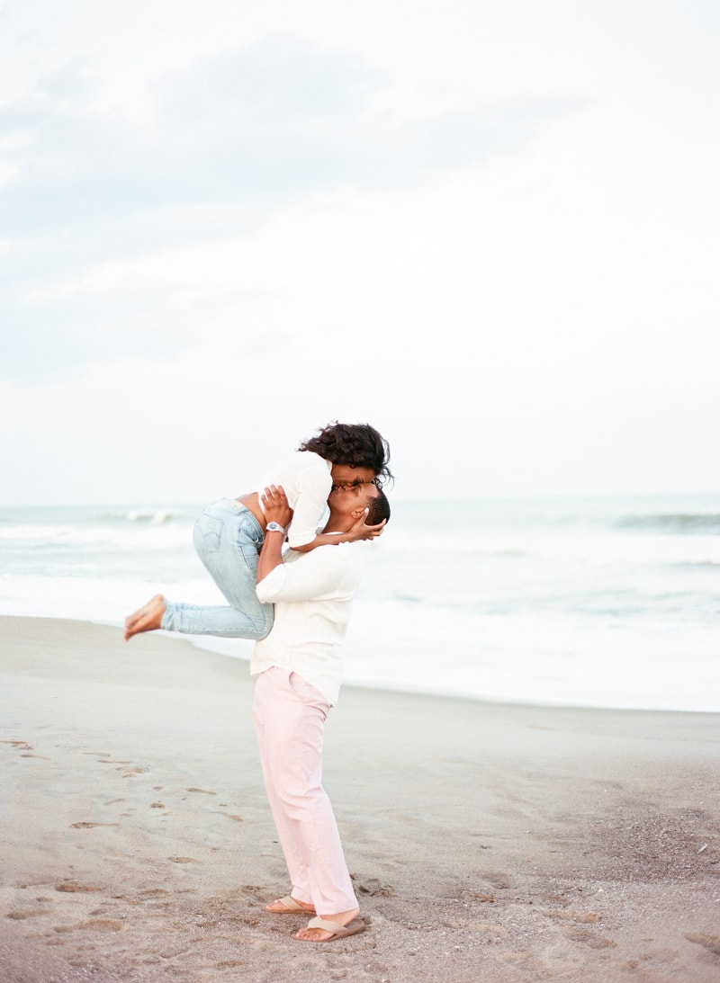 kure beach engagement photographers