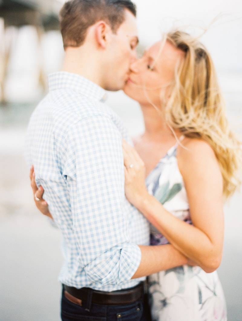 wrightsville beach nc engagement photos