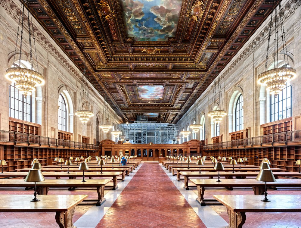 New York Public Library - Rose Reading Room