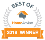 Best of 2018 HomeAdvisor Winner