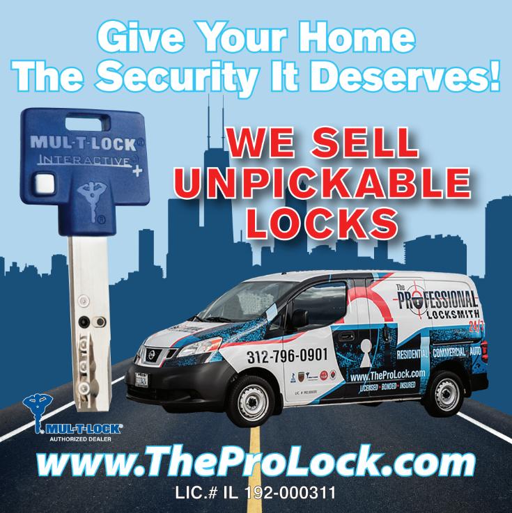 TheProLock Billboard Ad - Chicago MUL-T-Lock Dealer