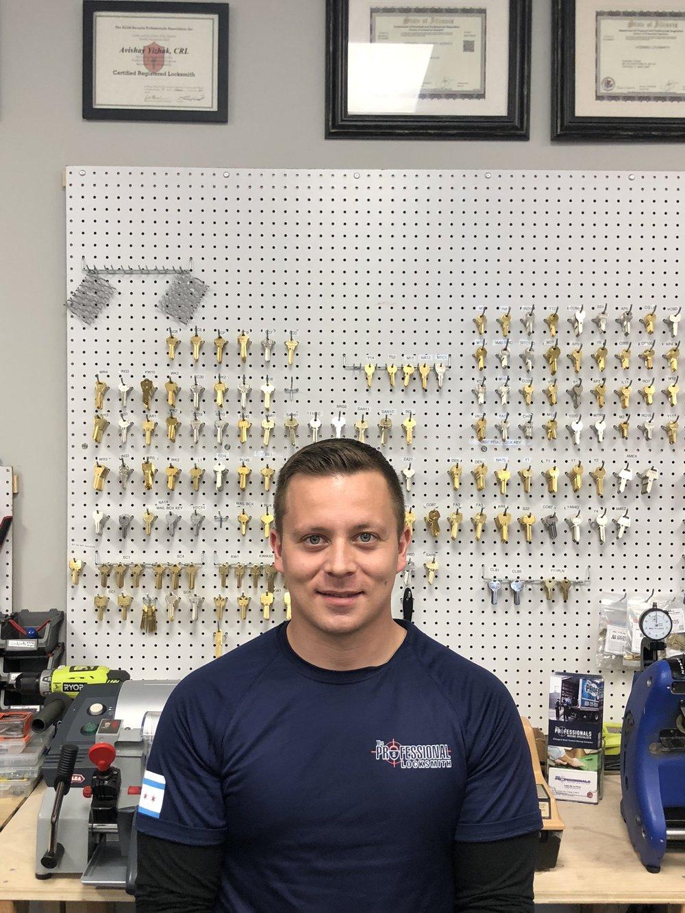 Joshua A - locksmith technician at The Professional Locksmith