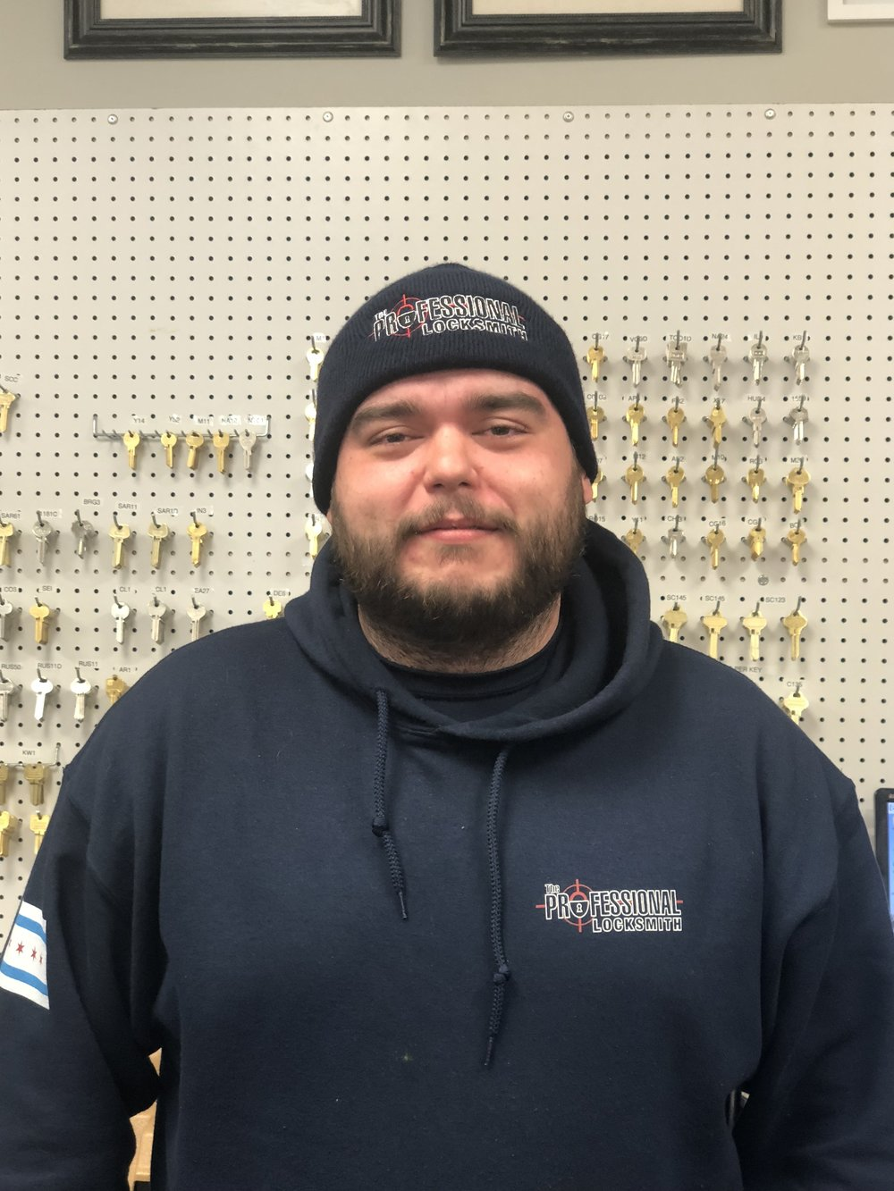 Mario w/ The Professional Locksmith Chicago Team