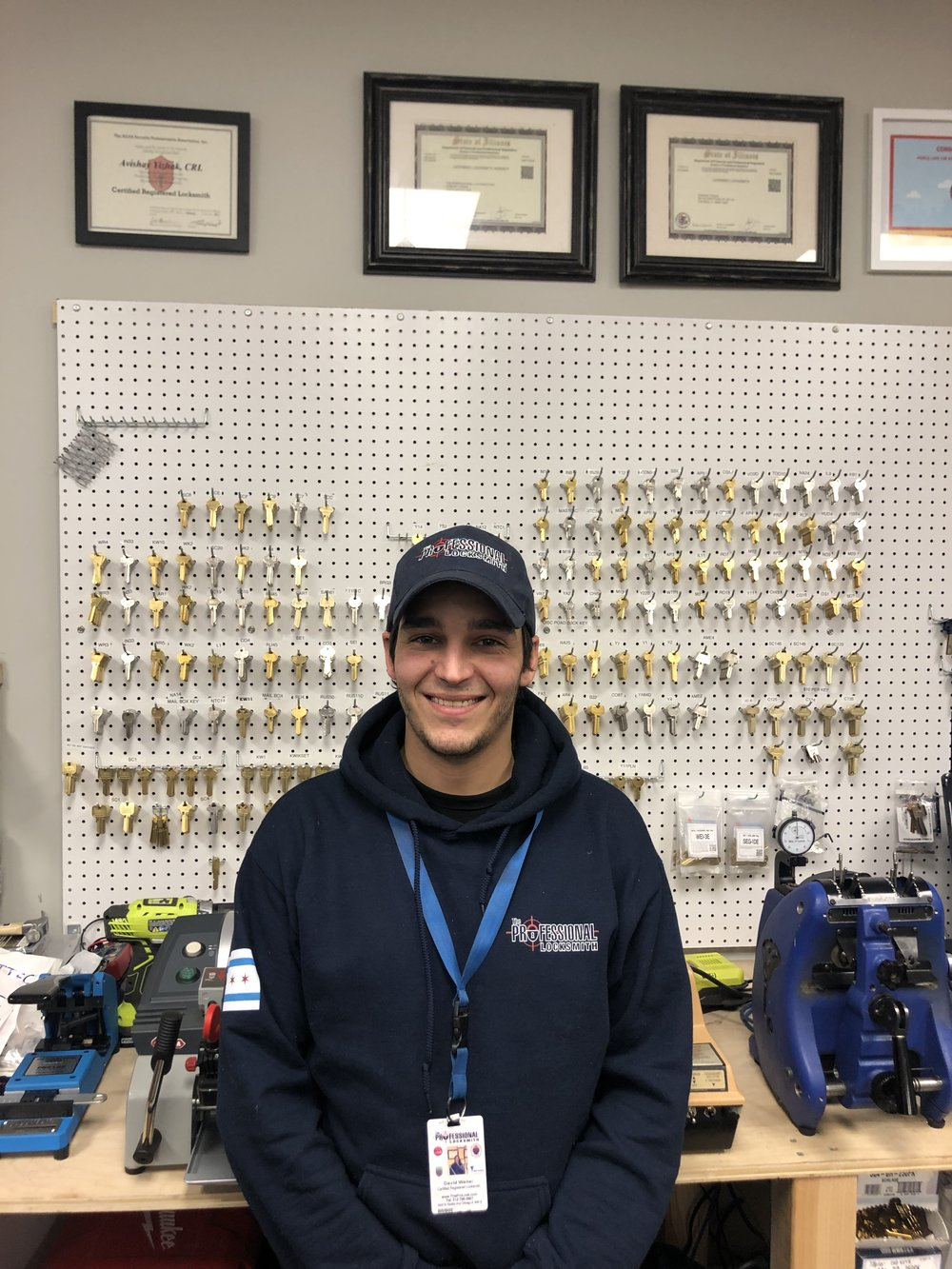 David w/ The Professional Locksmith Company in Chicago