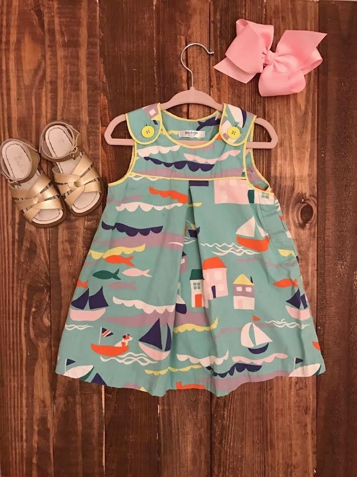 Dress Baby Boden, Salt Water Sandals