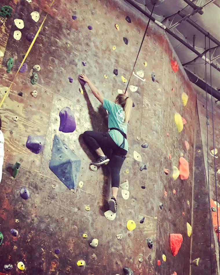 My 1st climb!