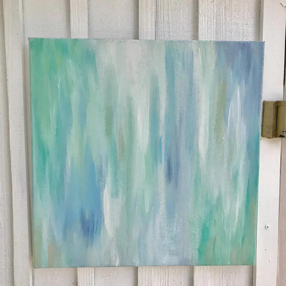 "Daren, 20x20"" original acrylic on canvas"