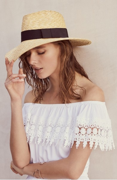 "Brixton ""Joanna"" Straw Hat at Nordstrom $44.00"