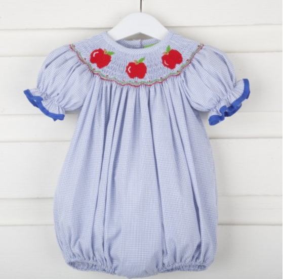 ba9b96b58f89f It also comes in a bishop dress if you prefer!! This item isn't a  pre-order, so it will ship within Smocked Auctions normal shipping window!