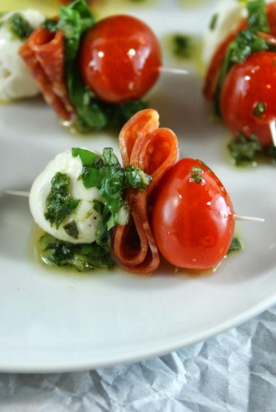 *Sometimes I substitute Genoa Salami or Prosciutto for pepperoni