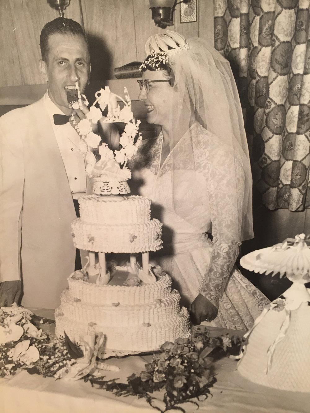 Mom and Dad May 1961