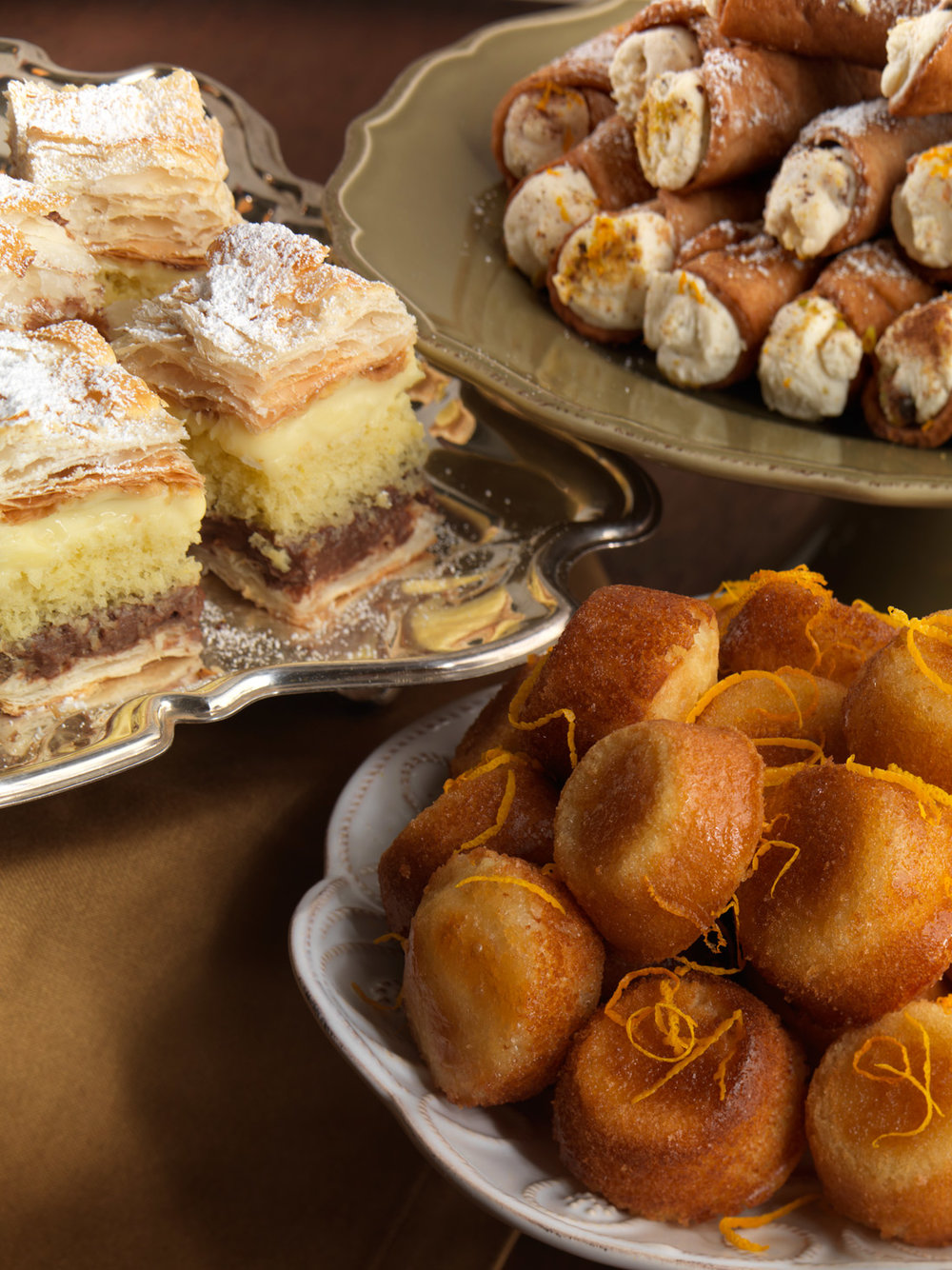 Rum Baba and other sweets
