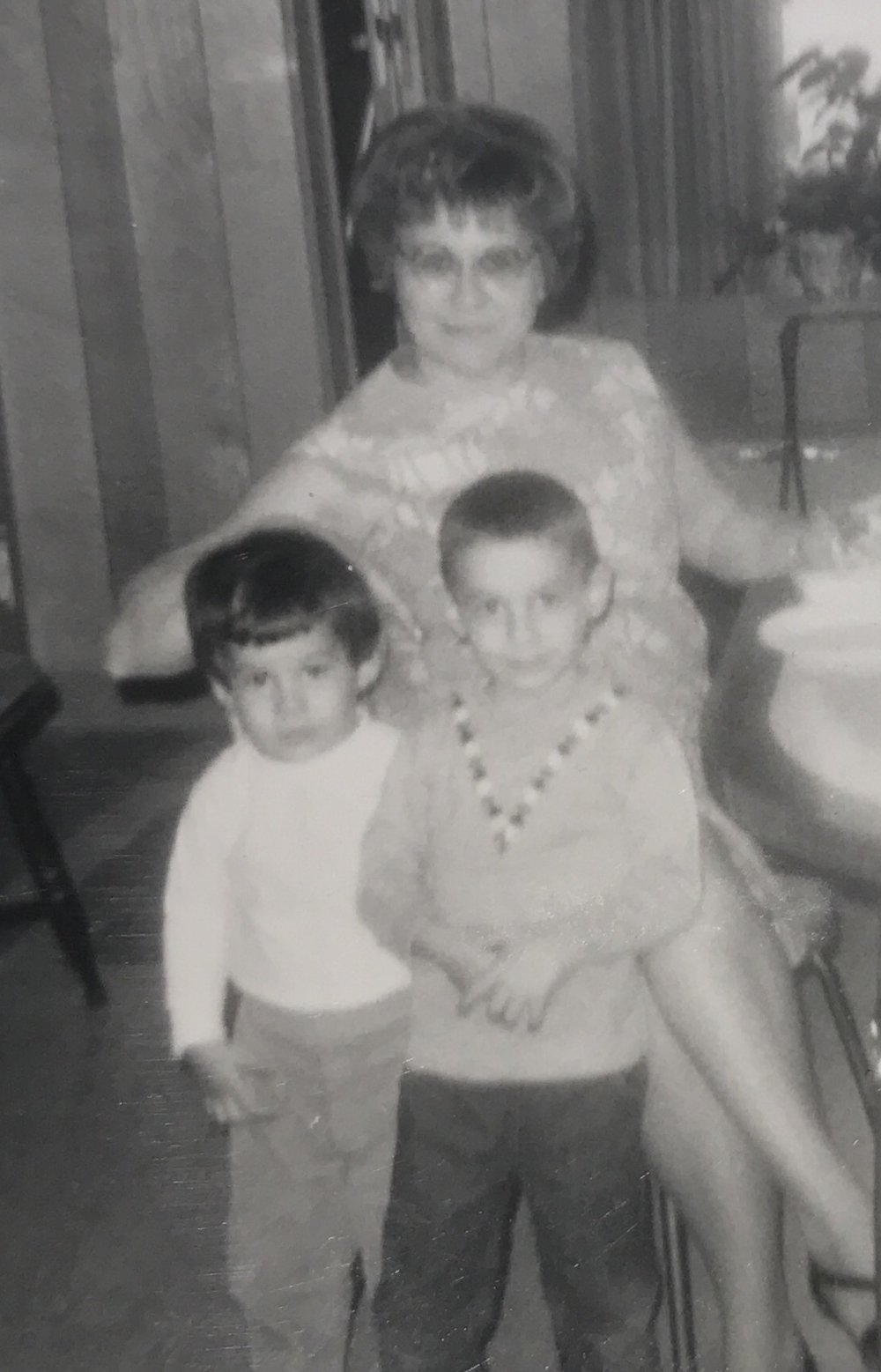 Me, Ralph and Cori 1966