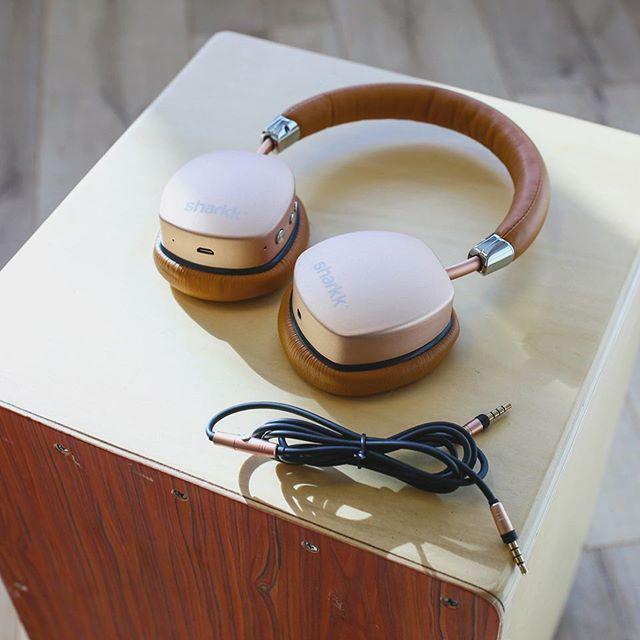 Sleek design with golden sound, the Sharkk Aura.