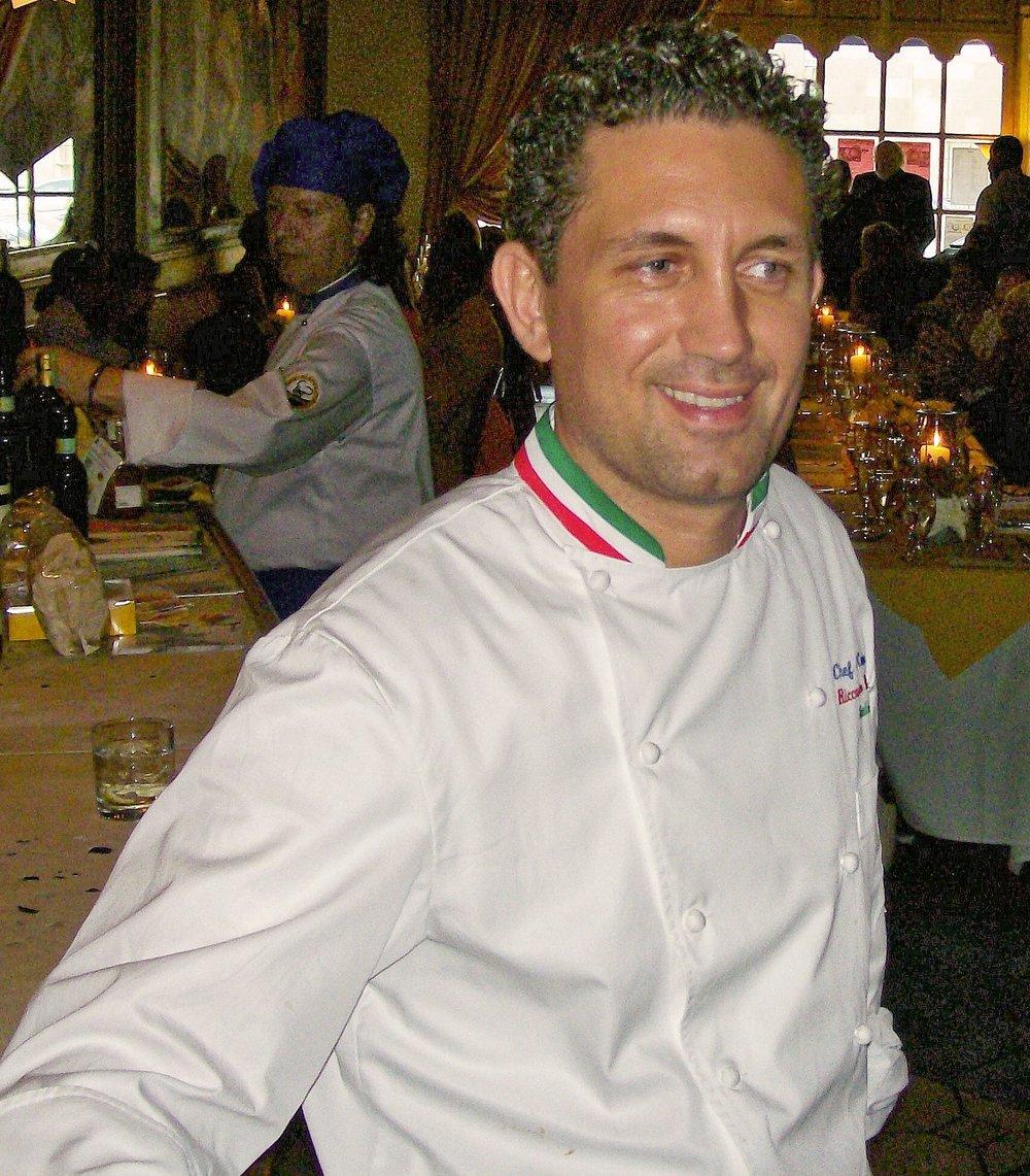 Chef Riccardo Bosio
