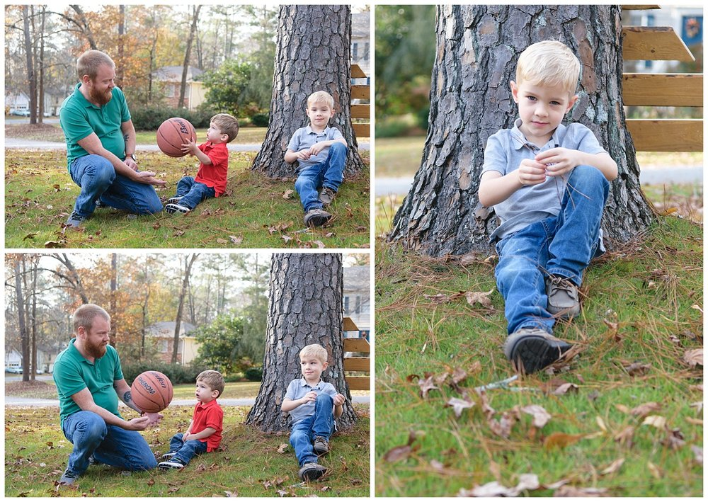 these are lifestyle images of a family during an in home lifestyle family session in lilburn georgia