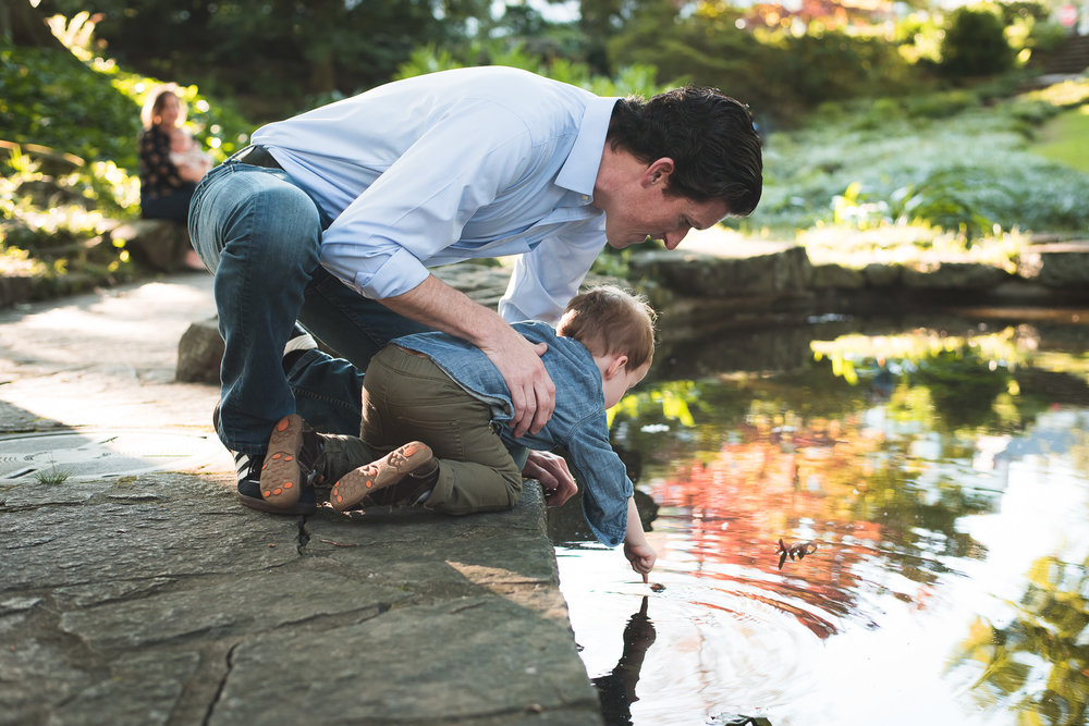 dad-son-looking-at-pond-winn-park-atlanta