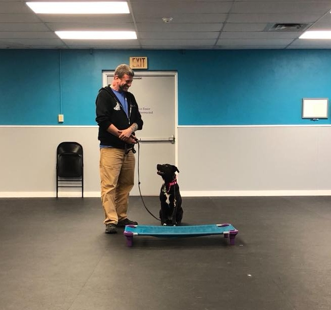 Cooper taking direction from Jason at Tyler's Seminar