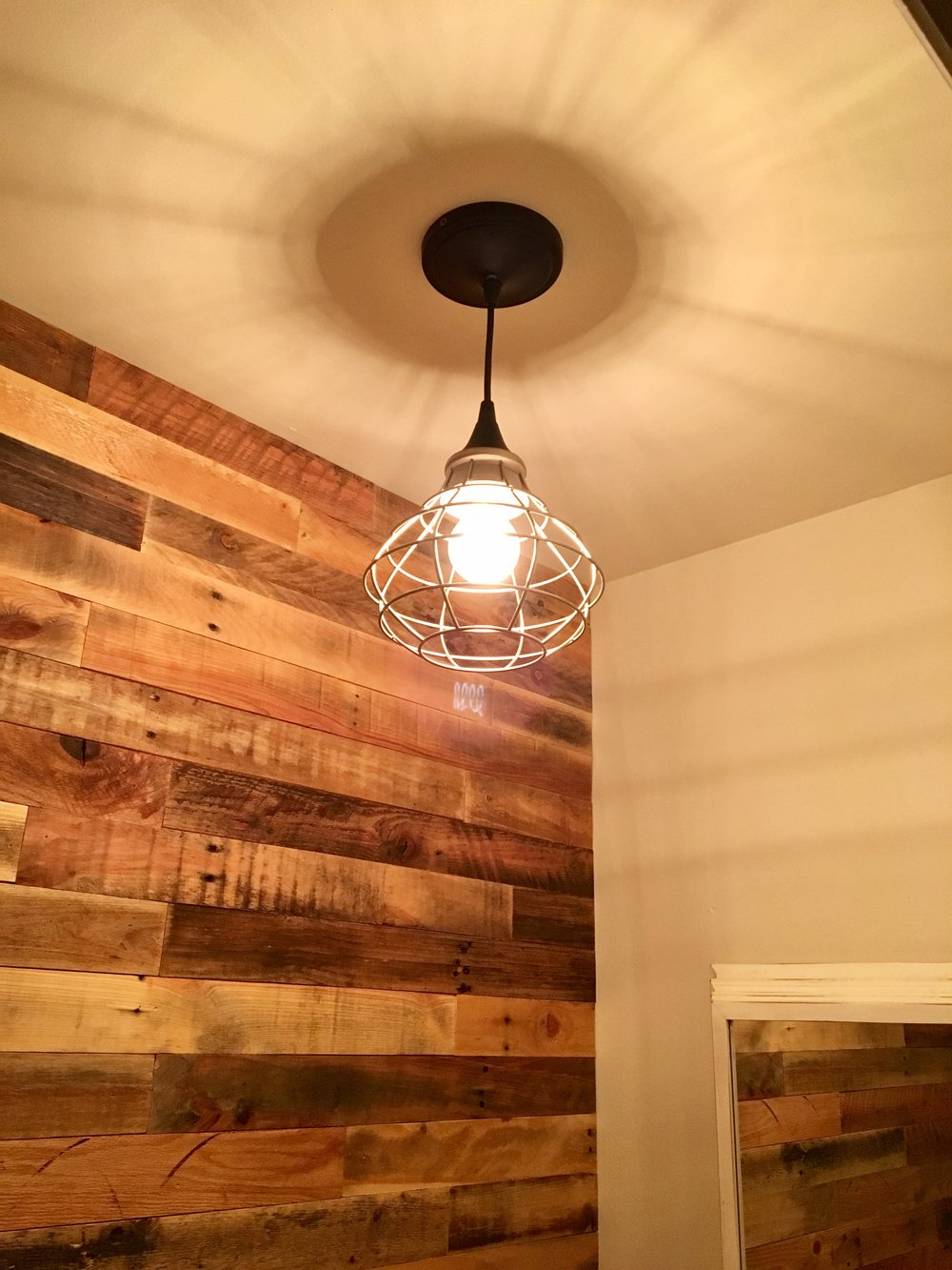 ... Rustic Industrial, Reclaimed Wood Interiors, Accent Wall