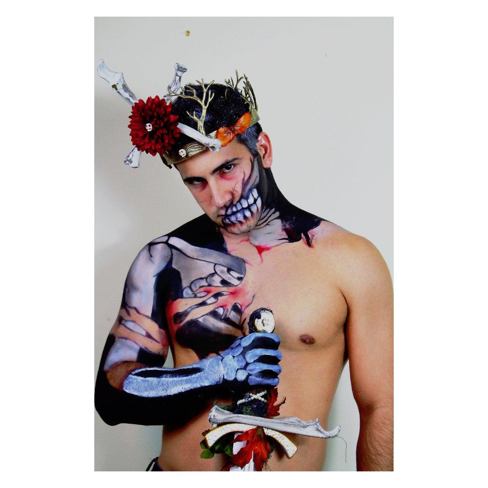 King of Halloween body art, 2016