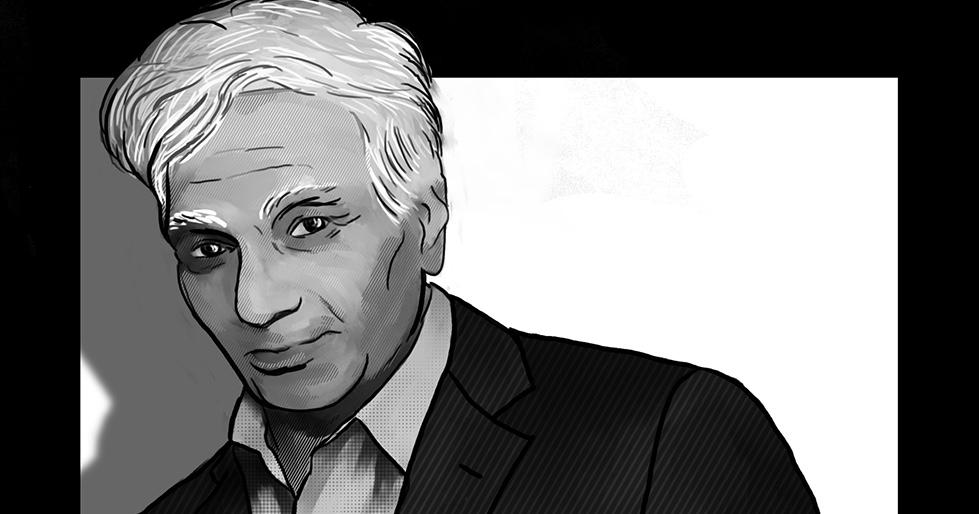 Jacques Derrida,French postmodernist philosopher