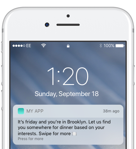 food lifestyle app push notification best practices for engagement