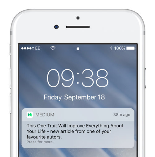 User data can help with push notification engageemtn