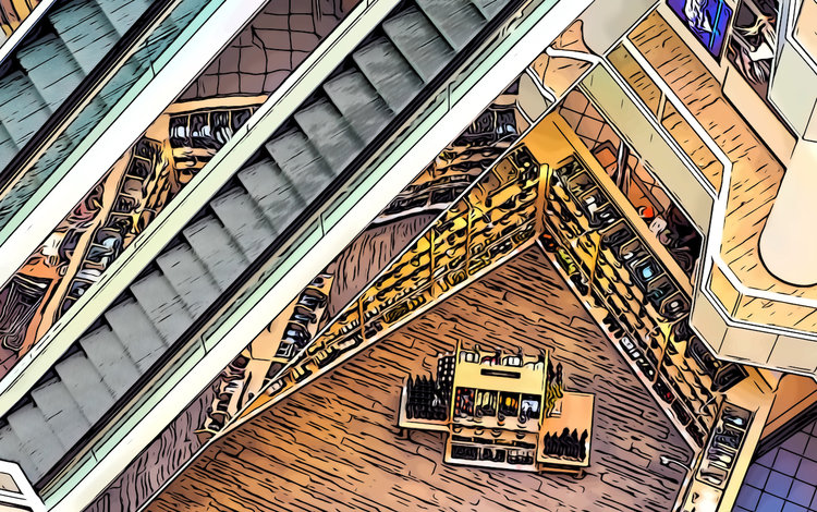 retail data store layout