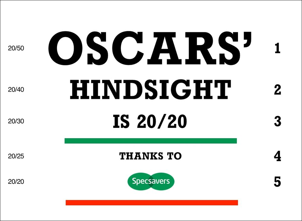 Specsavers capitalizes on the Oscars' mixup with viral Facebook post
