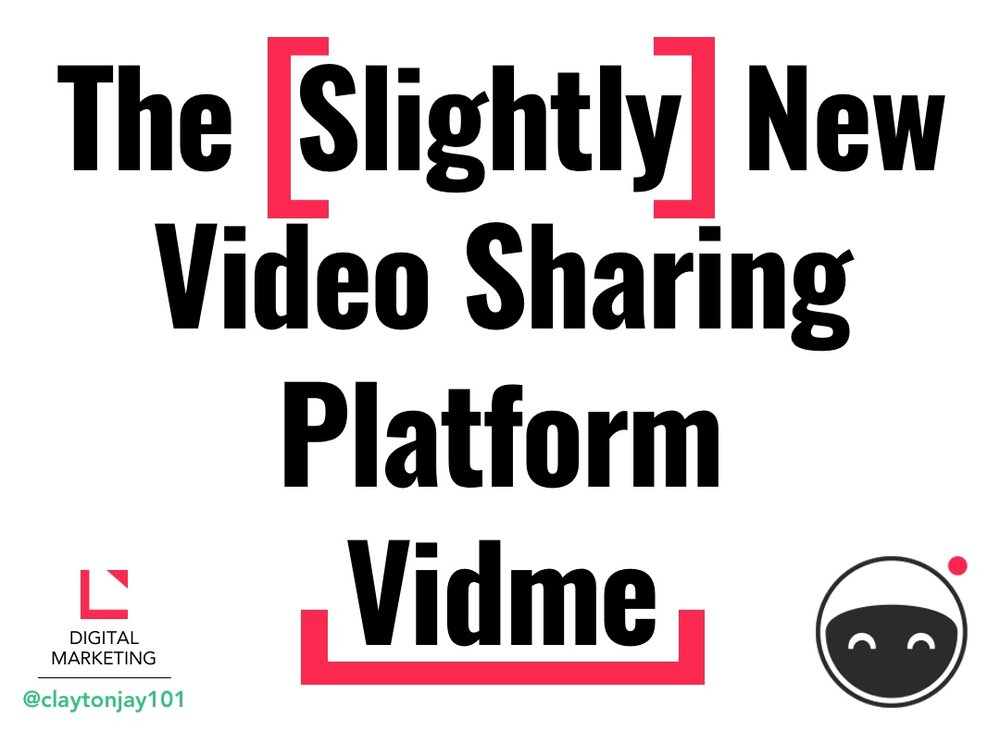 The new social media network for sharing videos Vidme