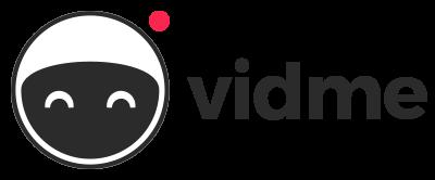 full logo for social video sharing network vidme