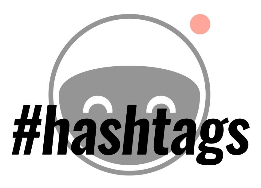 use hashtags when sharing to the video platform vidme