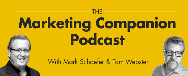 The marketing companion podcast is a show on digital marketing, social media and other business topics