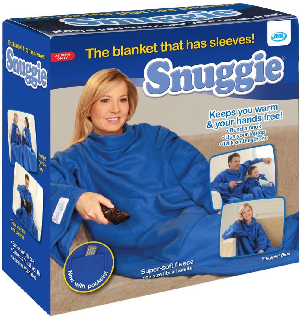 The Snuggie is perhaps one of the best products ever (it's not).