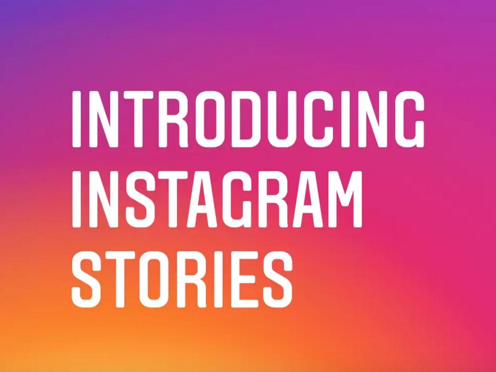 Introducing Instagram Stories which is a direct clone of the social network Snapchat
