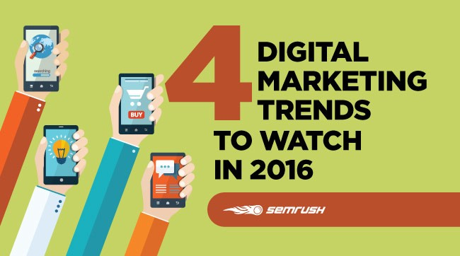 Article by SEMRush on digital marketing trends