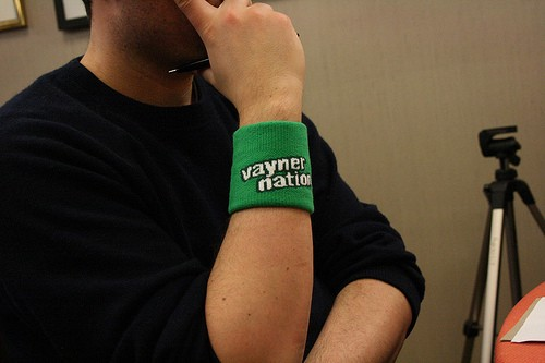 Vayner nation sweatband