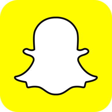 Logo for the social network Snapchat