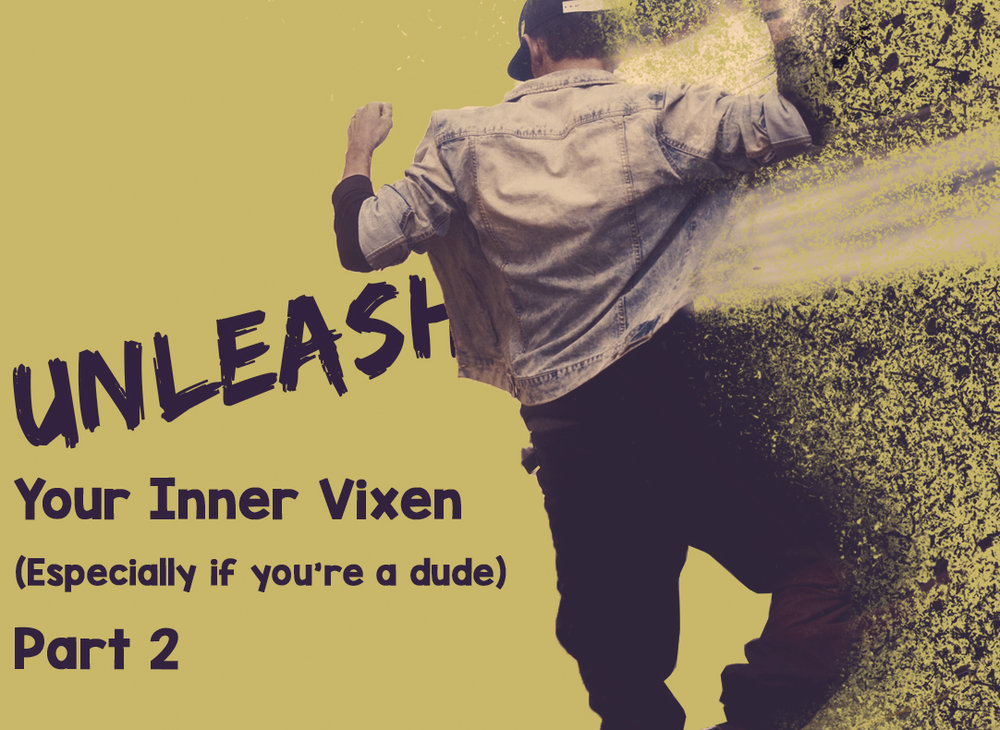 Unleash your inner vixen article on social media, marketing and business principles