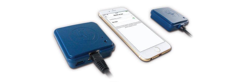 in.touch 2 iPhone et émetteurs