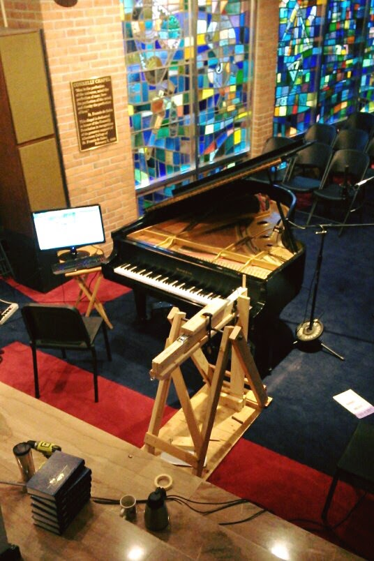 Sampling a Baldwin grand