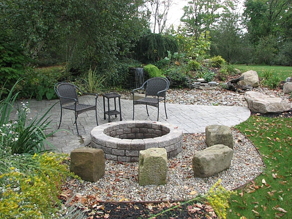 Barnstone Seats around Firepit.JPG